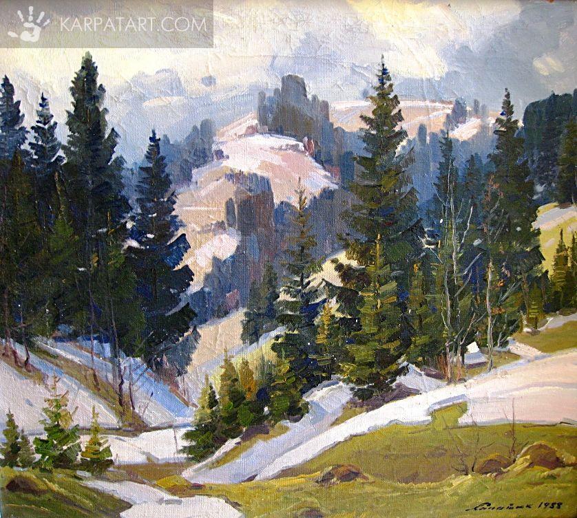 Закарпатский пейзаж