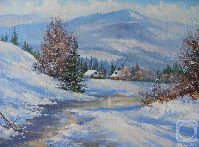 У Карпатах зима