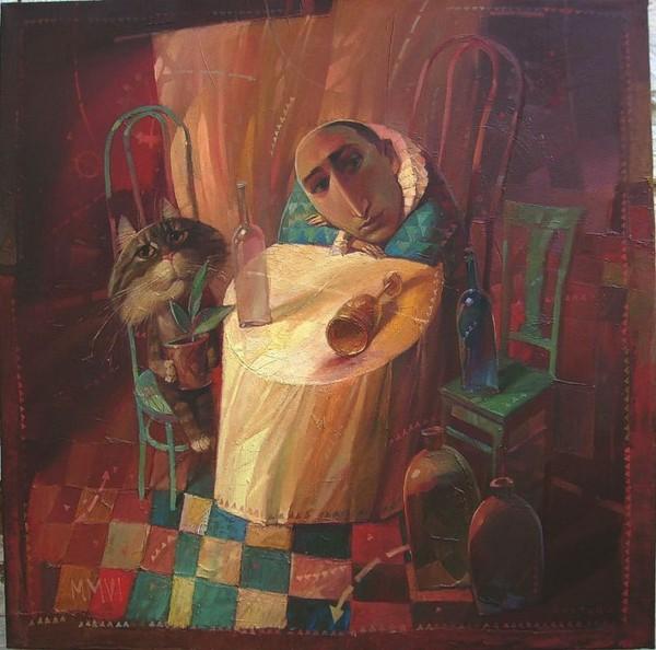 А.Антонюк.Артисты бродячего цирка