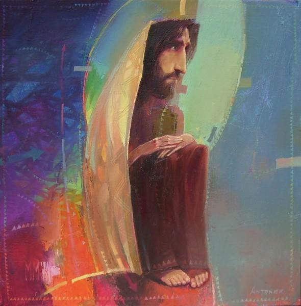 А.Антонюк.Христос в пустыне