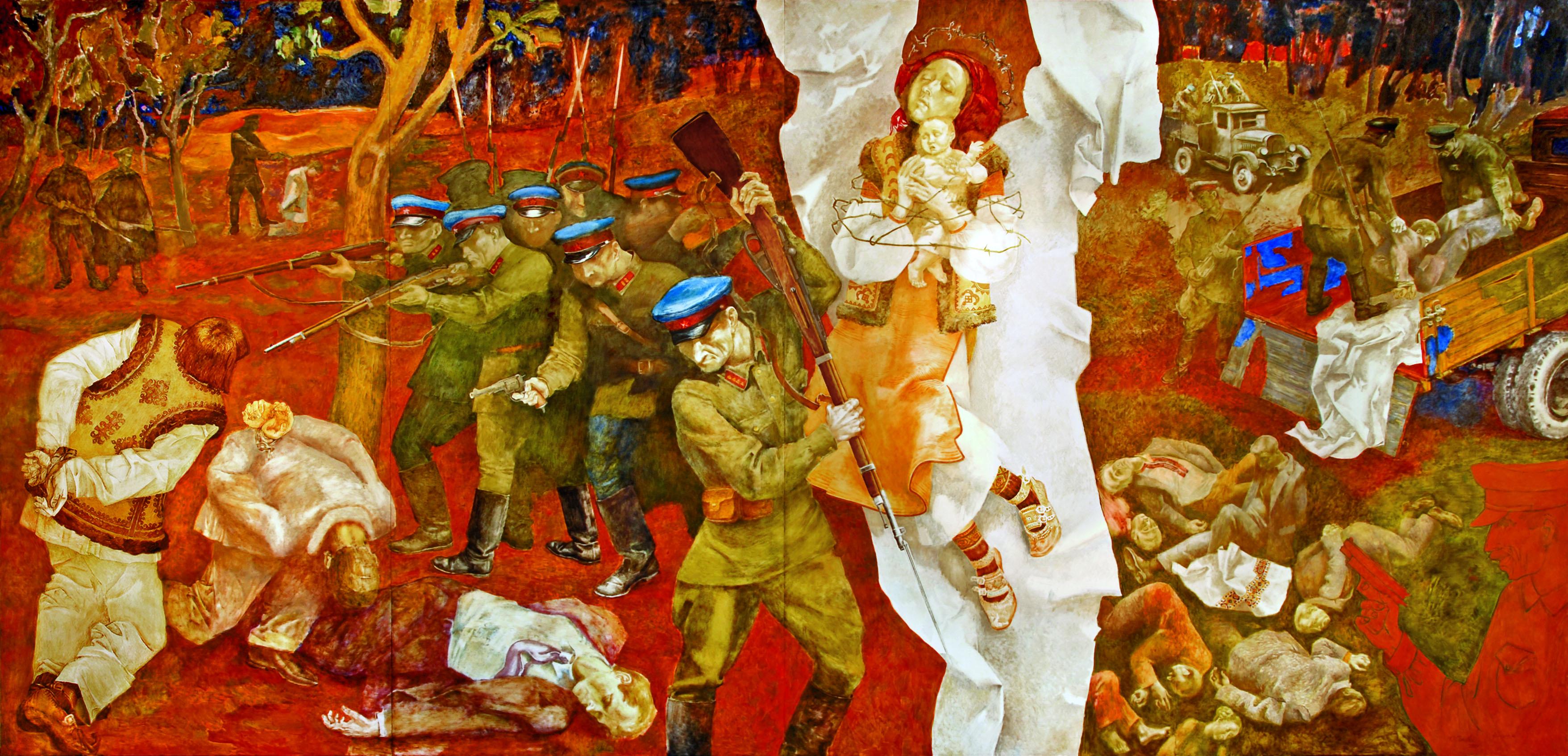 «Дем'янів Лаз – відлуння «золотого вересня» Художнє панноОлесь Соловей