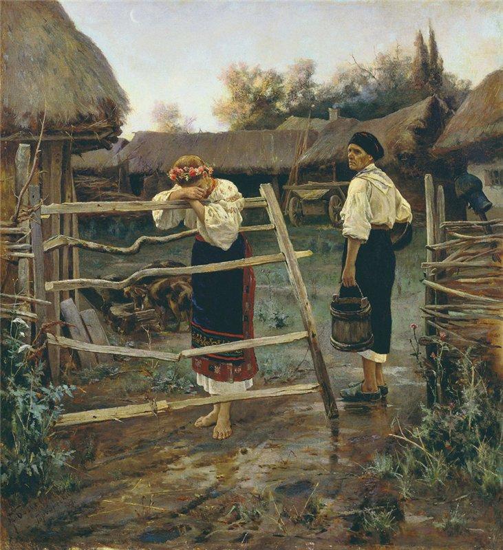 .Богданов Запоздала 1889 г.