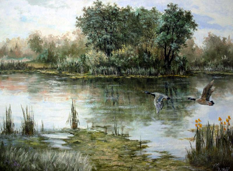 Дикое озеро