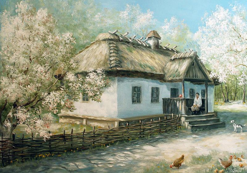 Хата - музей Т.Г.Шевченко