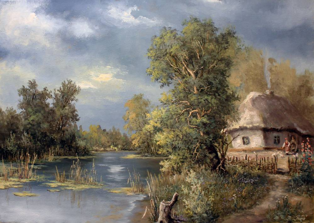 Хатка у реки