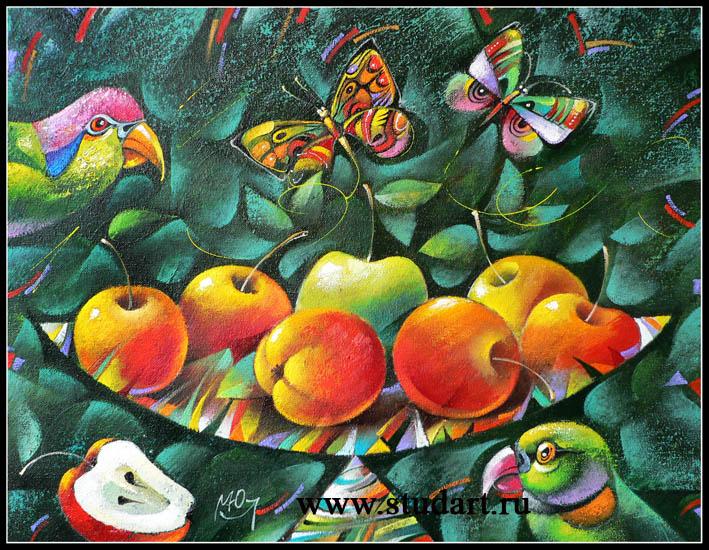Композиция с яблоками