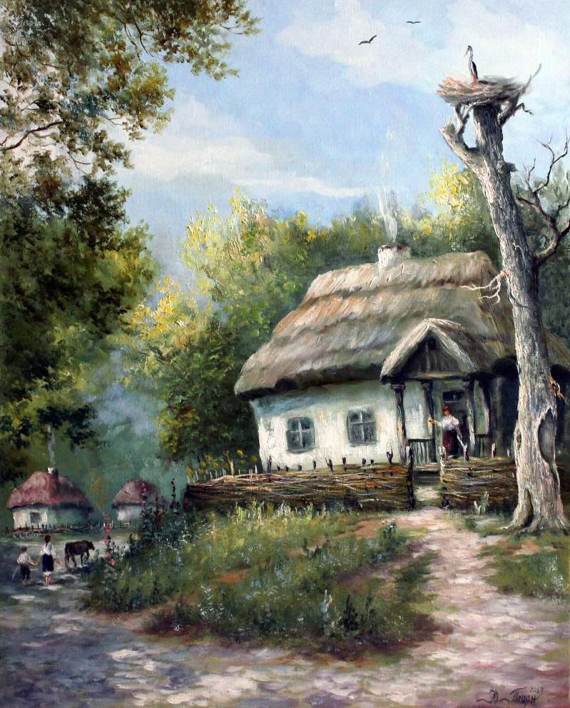 Пирогово. Украинское село - музей под Киевом