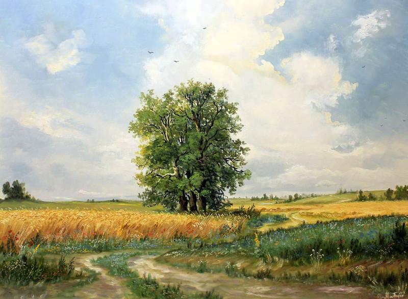 Родные пейзажи. Украина