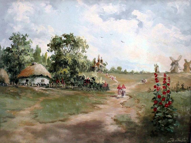 В Пирогово