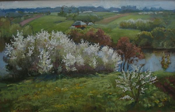 Весна в Каплуновке.