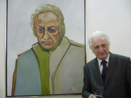 художник Анатолій Мельник
