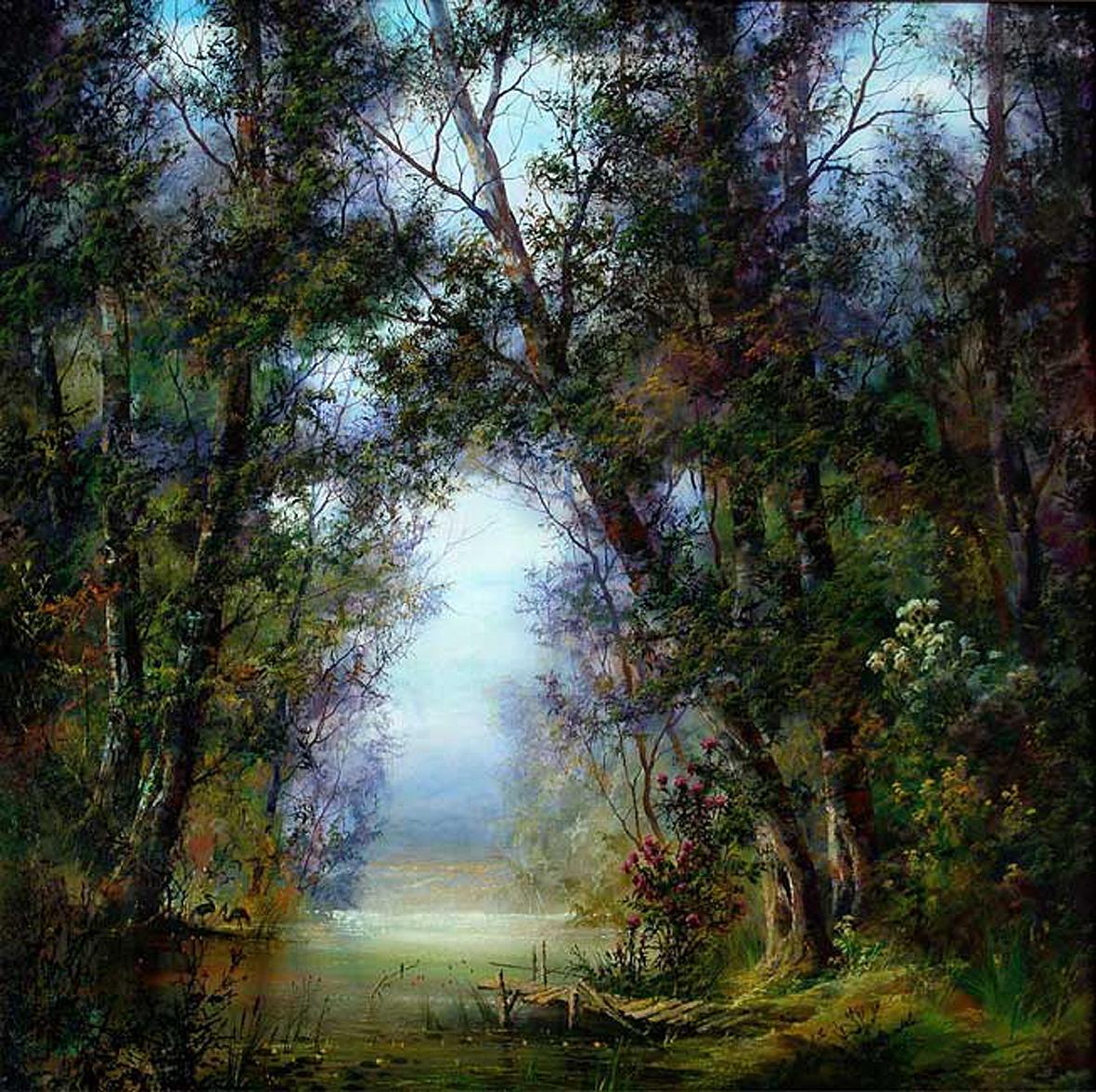лісовий пейзаж