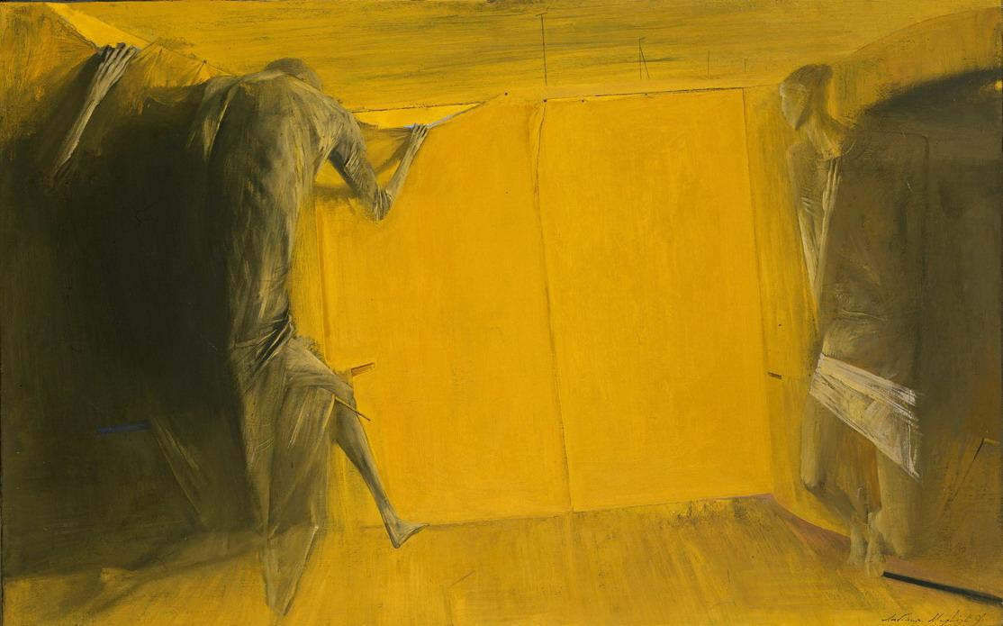 жовтий Из цикла «Интерьеры»