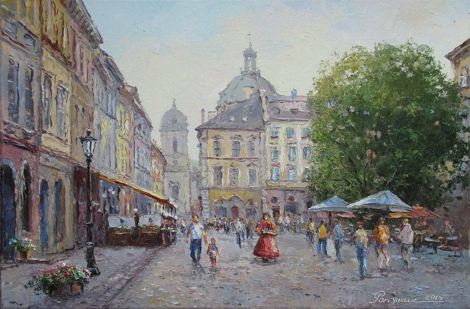 На площі Ринок у Львові