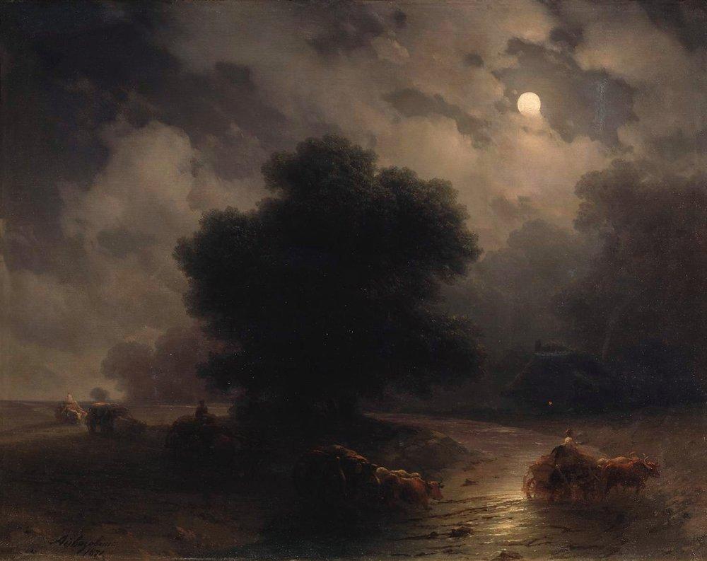Ночь на Украине. 1871