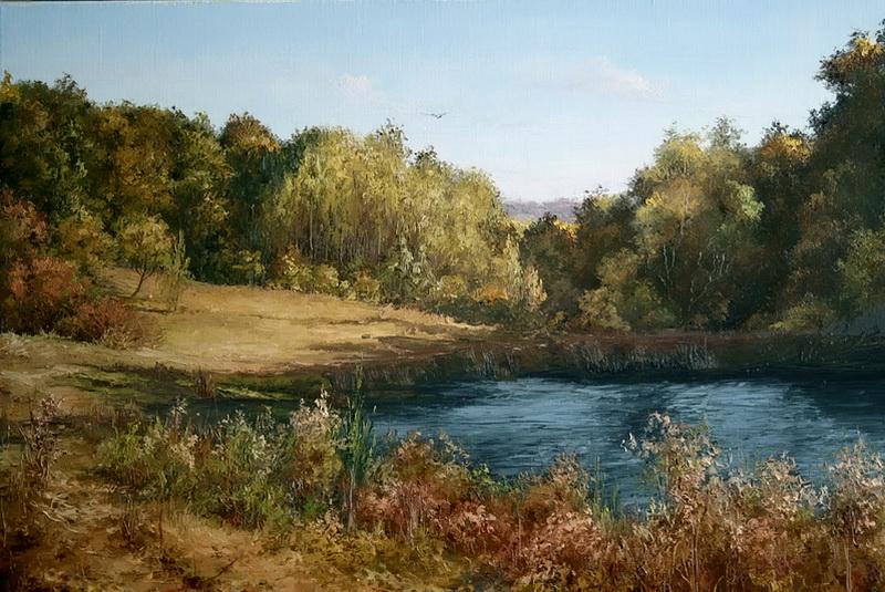 Осень вокруг озера