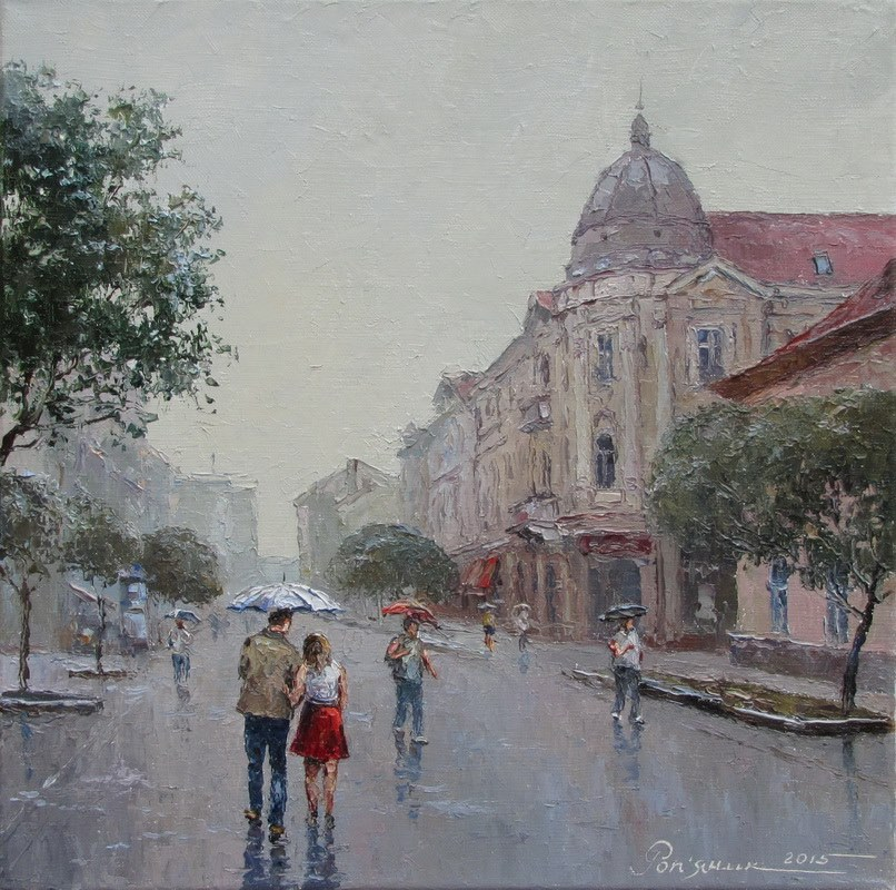 У Івано-Франківську задощило
