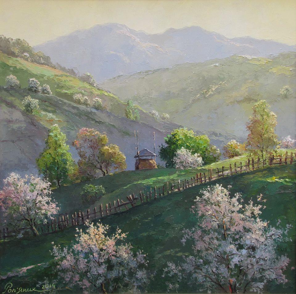 Весна на Гуцульщин