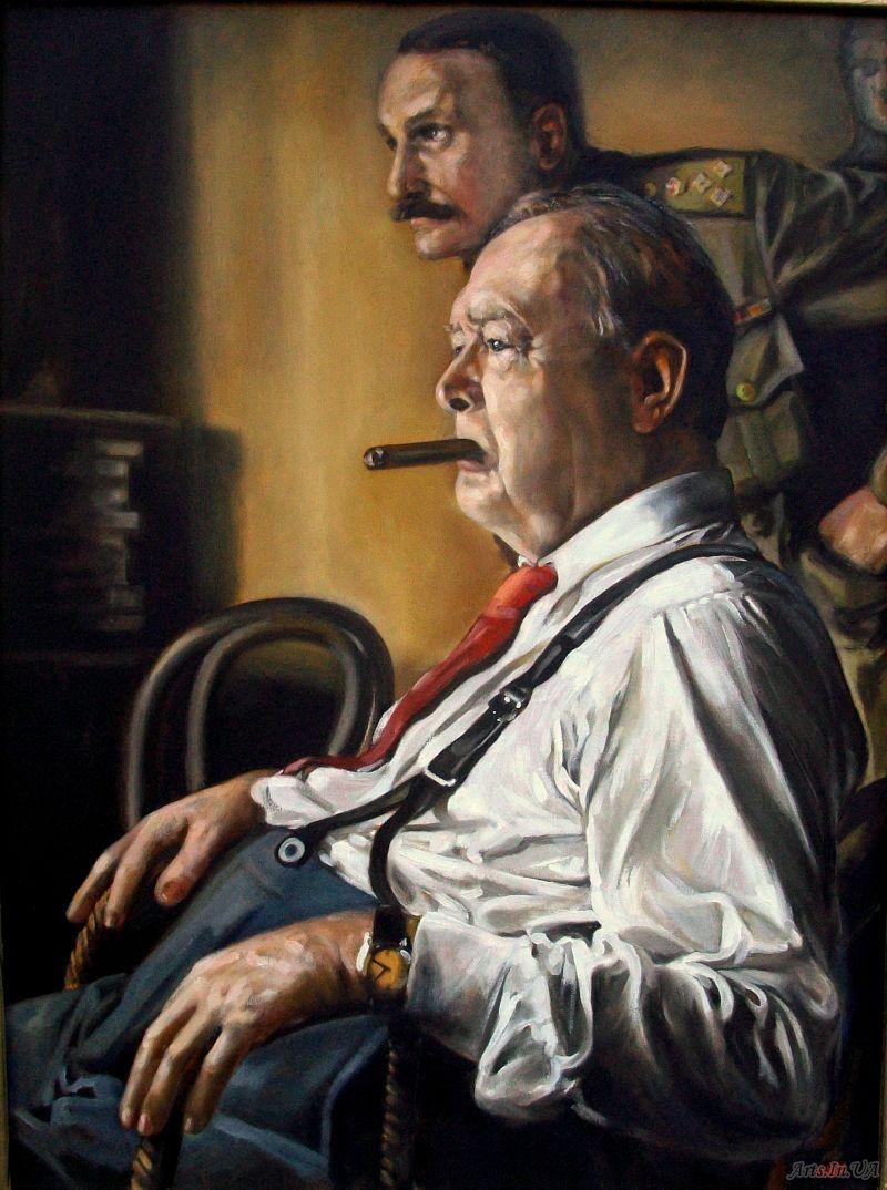 портрет Ч.