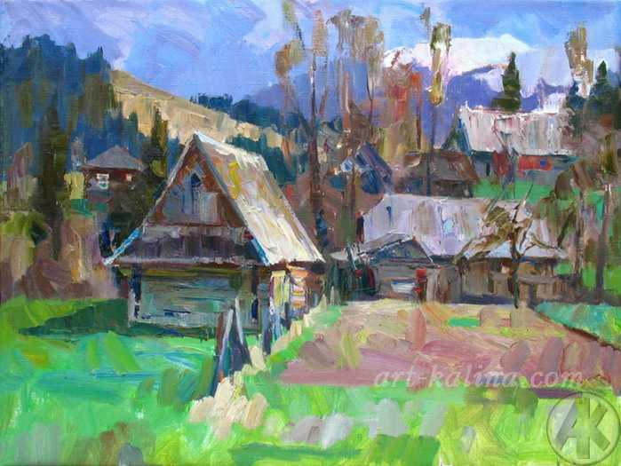 Деревня Синевир
