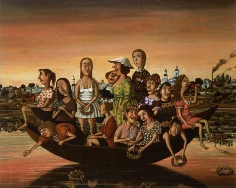 Девственницы и река