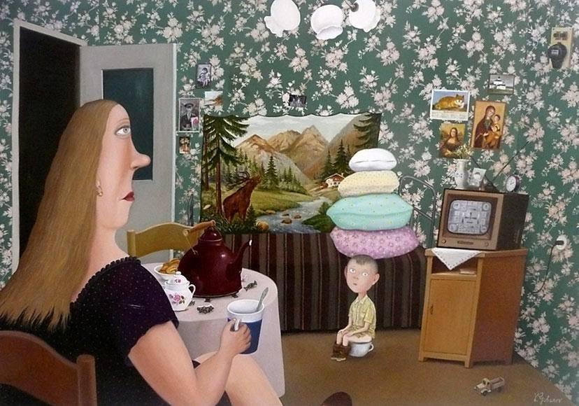 Дом - конфетка и маленький мальчик с потерянными иллюзиями
