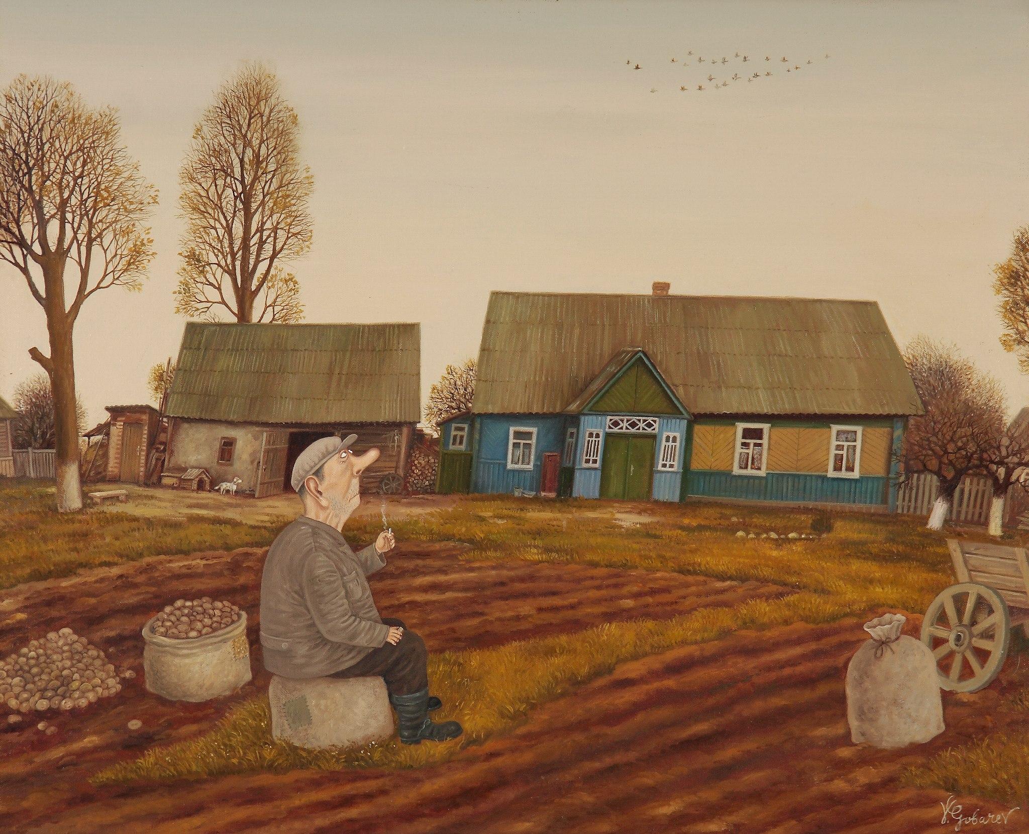 Осень в Олехновичах