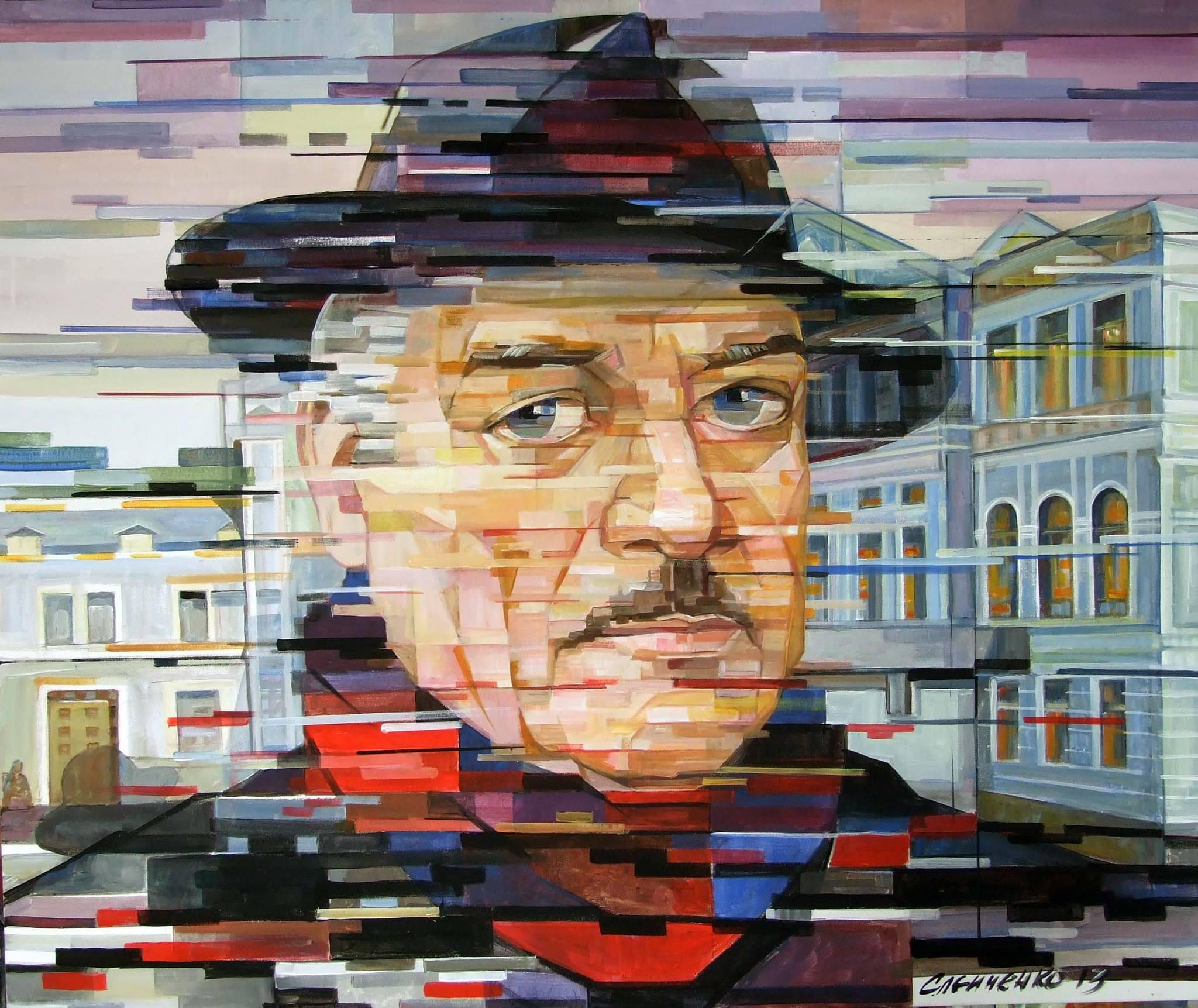 Портрет видатного українського режисера Сергія Данченка