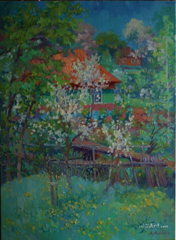Весна в Нагуєвичах