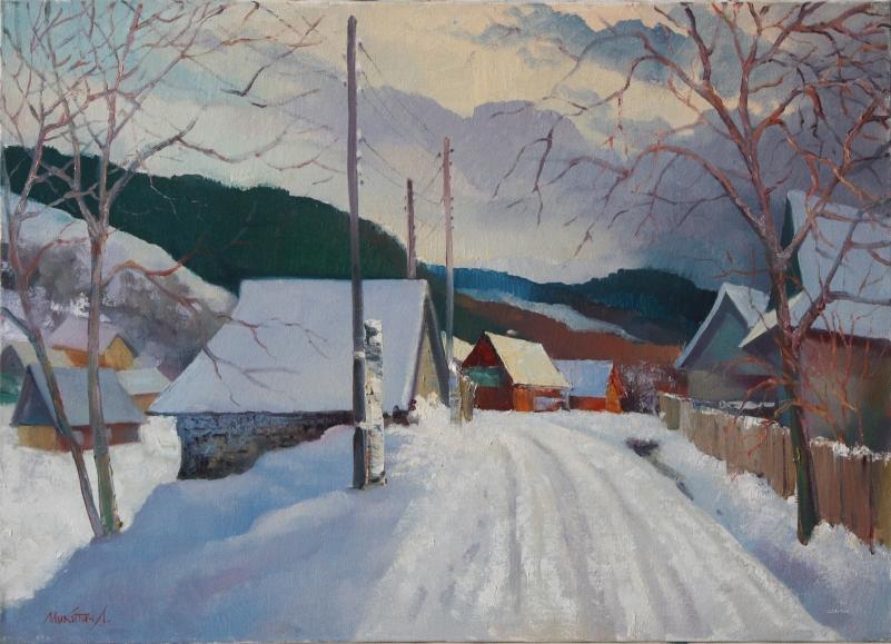 Зима. Село Росохи