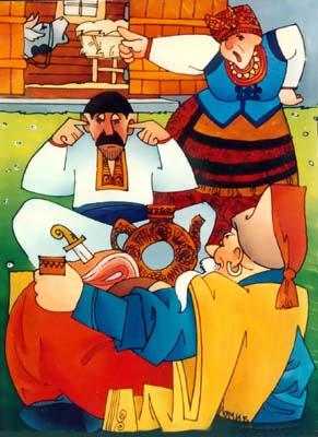 Гость из Запорожской