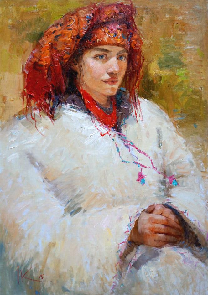Портрет украинской девушки