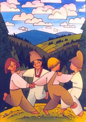 Танец на высокой равнине