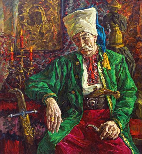 «Микола Іваненко - козак пластунівського куреня Запорозького війска