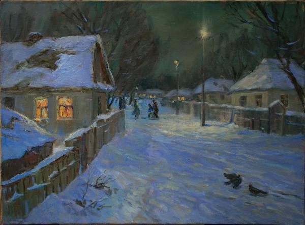 Мішуровський В. Рождественский вечер