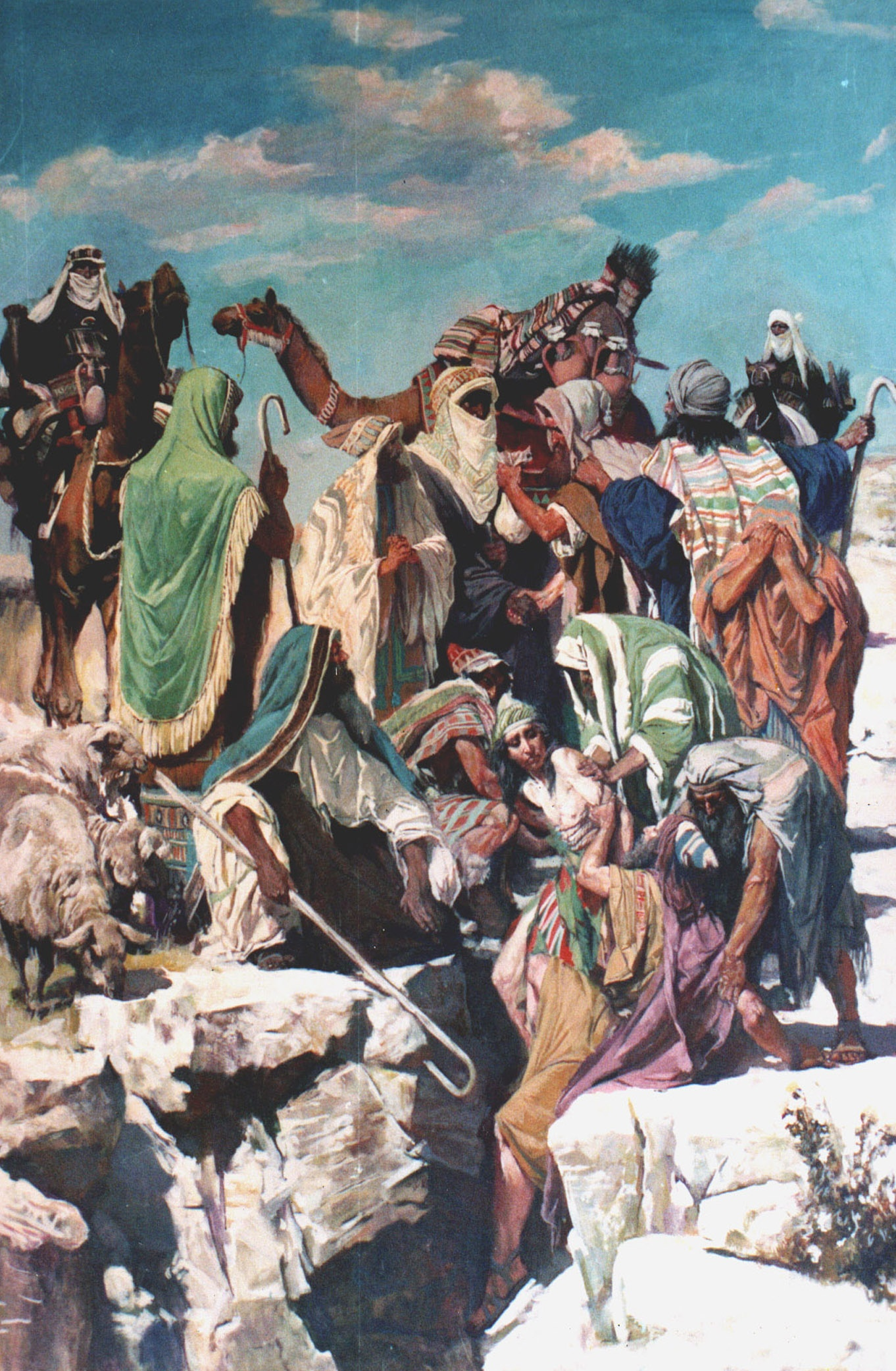 Продаж Йосифа в рабство