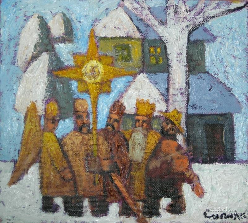 Сипняк П. Вертеп в Карпатах