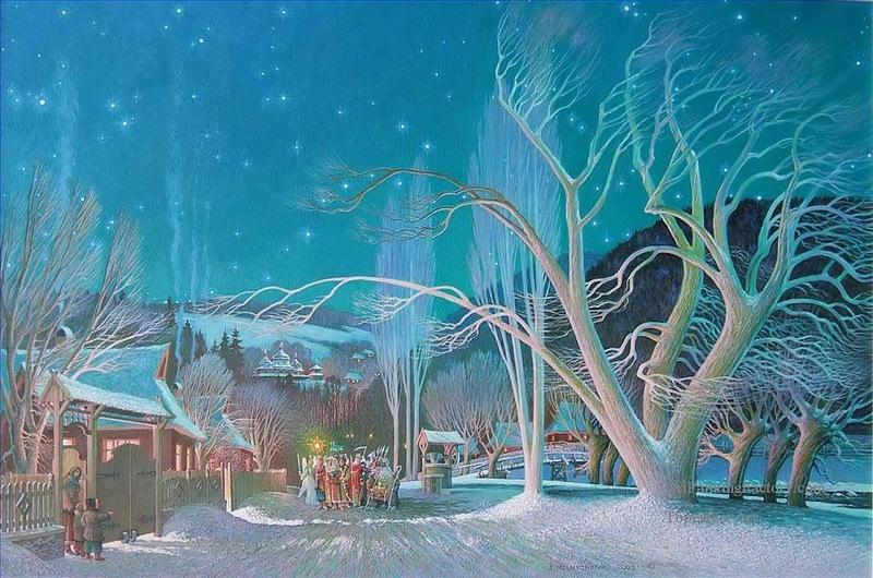 Степан Мельниченко__Різдвяна ніч в Україні