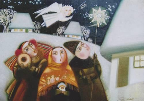 Тафійчук Л. Святий вечір. 30х40. Полотно, олія. 2009