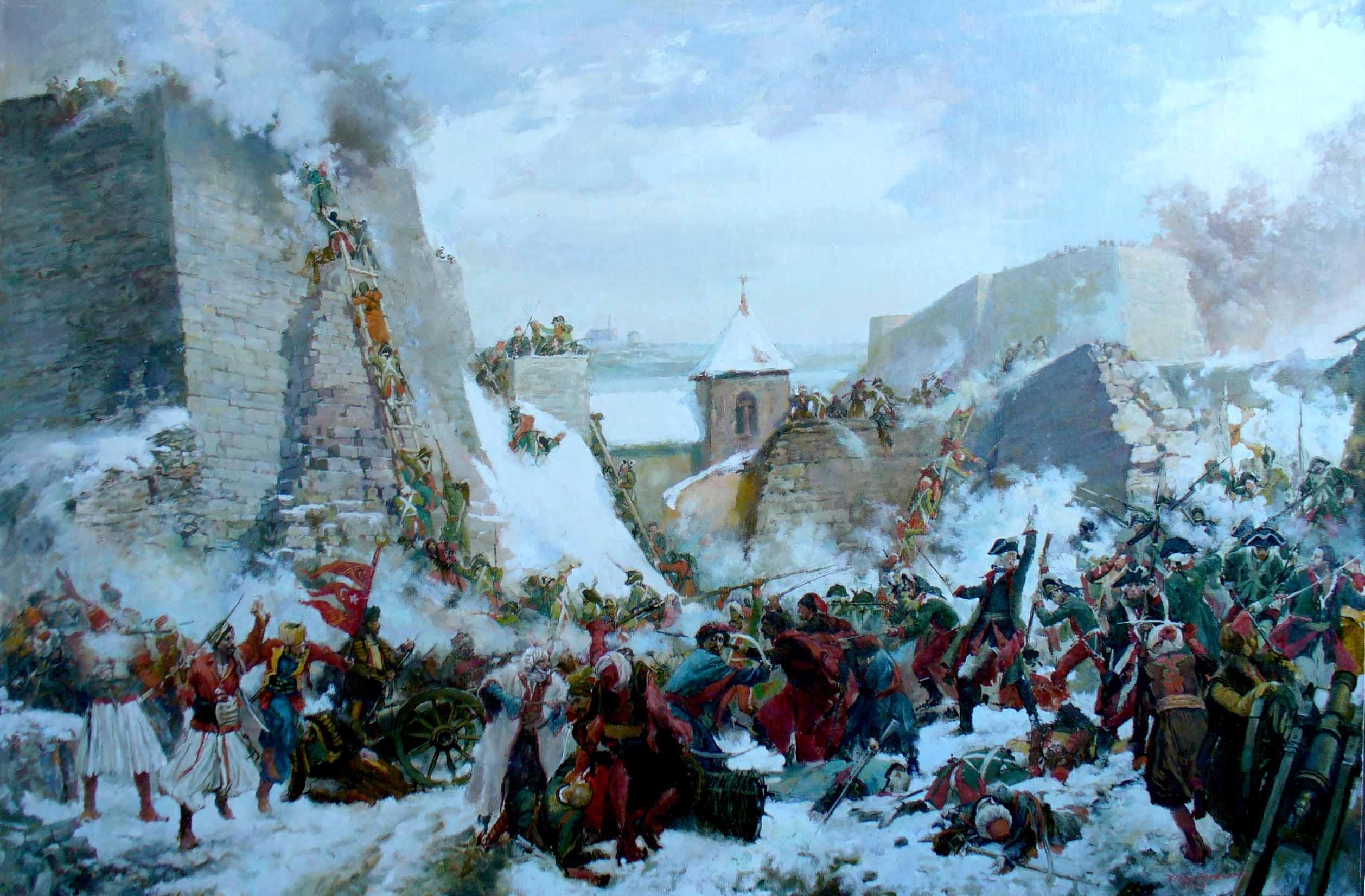 Взяття Очакова 1788 рік