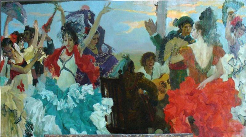 фламенко на заході