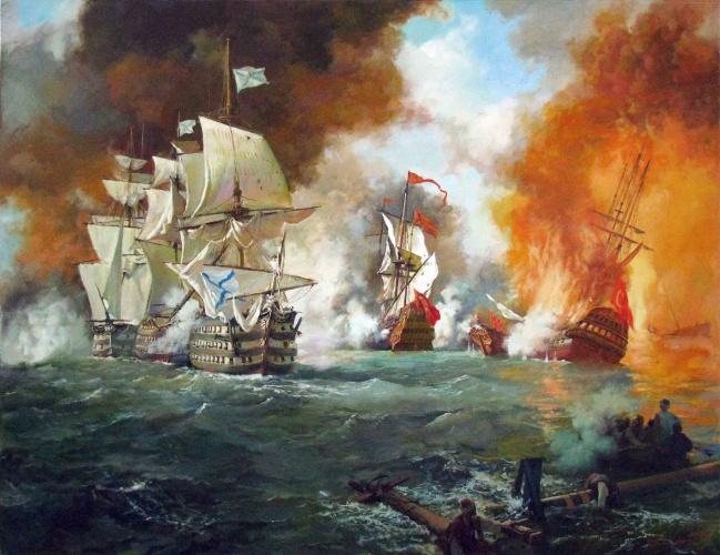 морський бій з турками