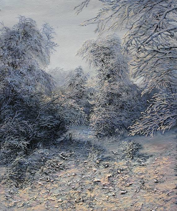 зима в лісі