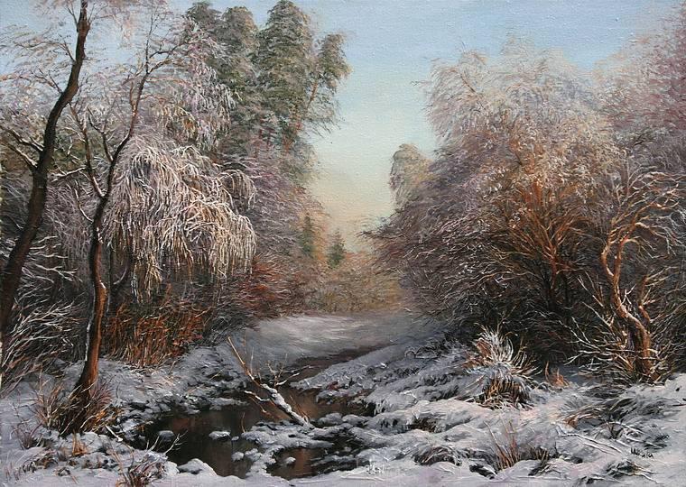 зимовий пейзаж1