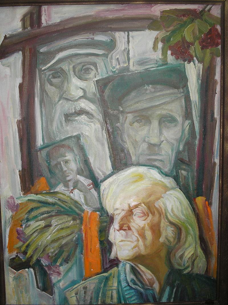«Автопортрет на тлі предків», 2006