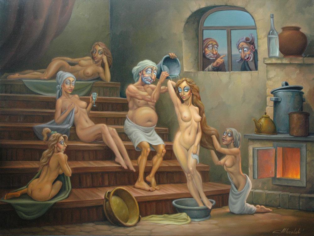 эротика банный день - 13