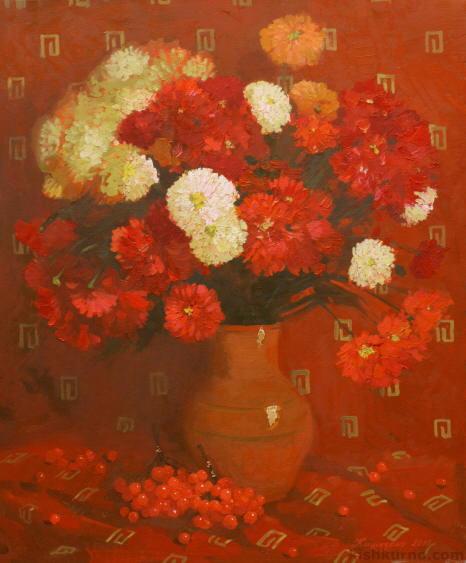 Червоний натюрморт