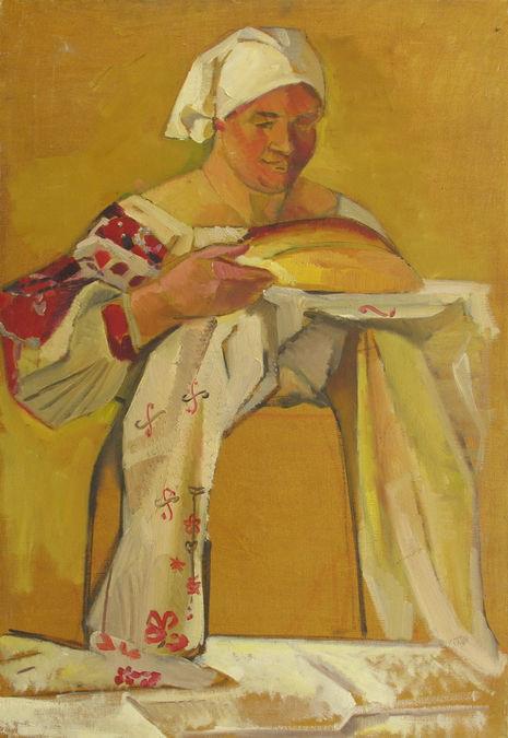 КРЕСТЬЯНКА С КАРАВАЕМ 1967
