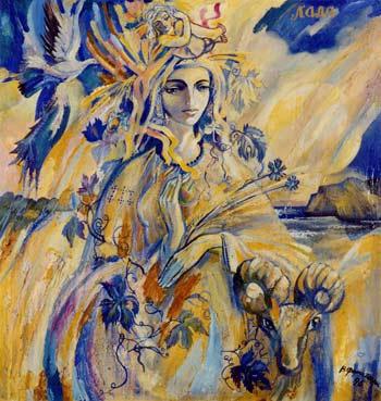Лада - богиня життя»