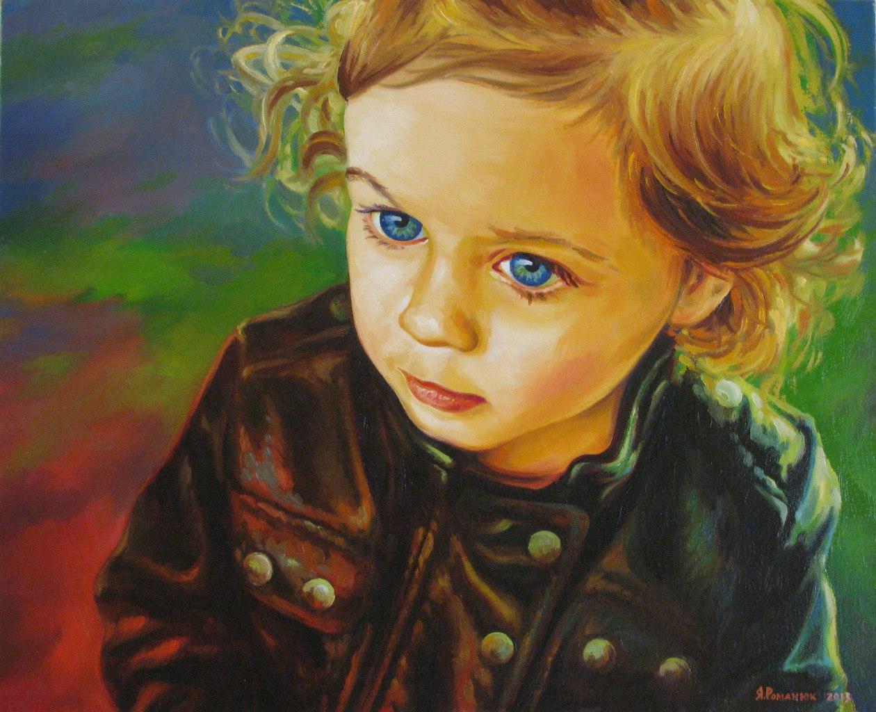 Маленька дівчинка Катруся
